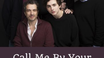 Call Me By Your Name Quotes